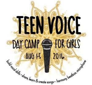Teen Voice Day Camp for Girls