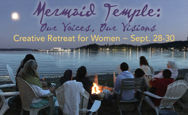Mermaid Temple creative womens retreat