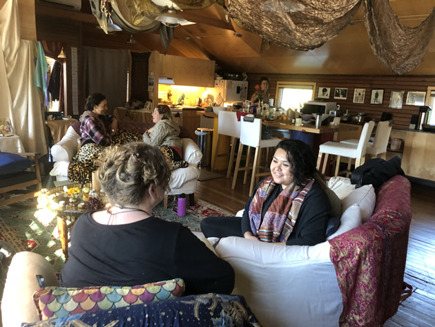 Mermaid temple voice retreat-sharing